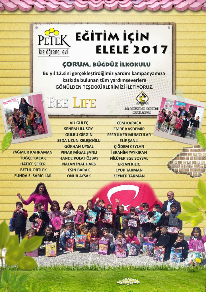 Eğitim için Elele 2017